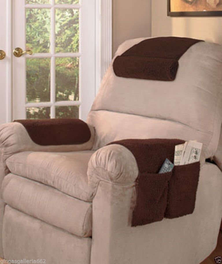 Details About Armchair Savers Armrest Covers Arm Rest
