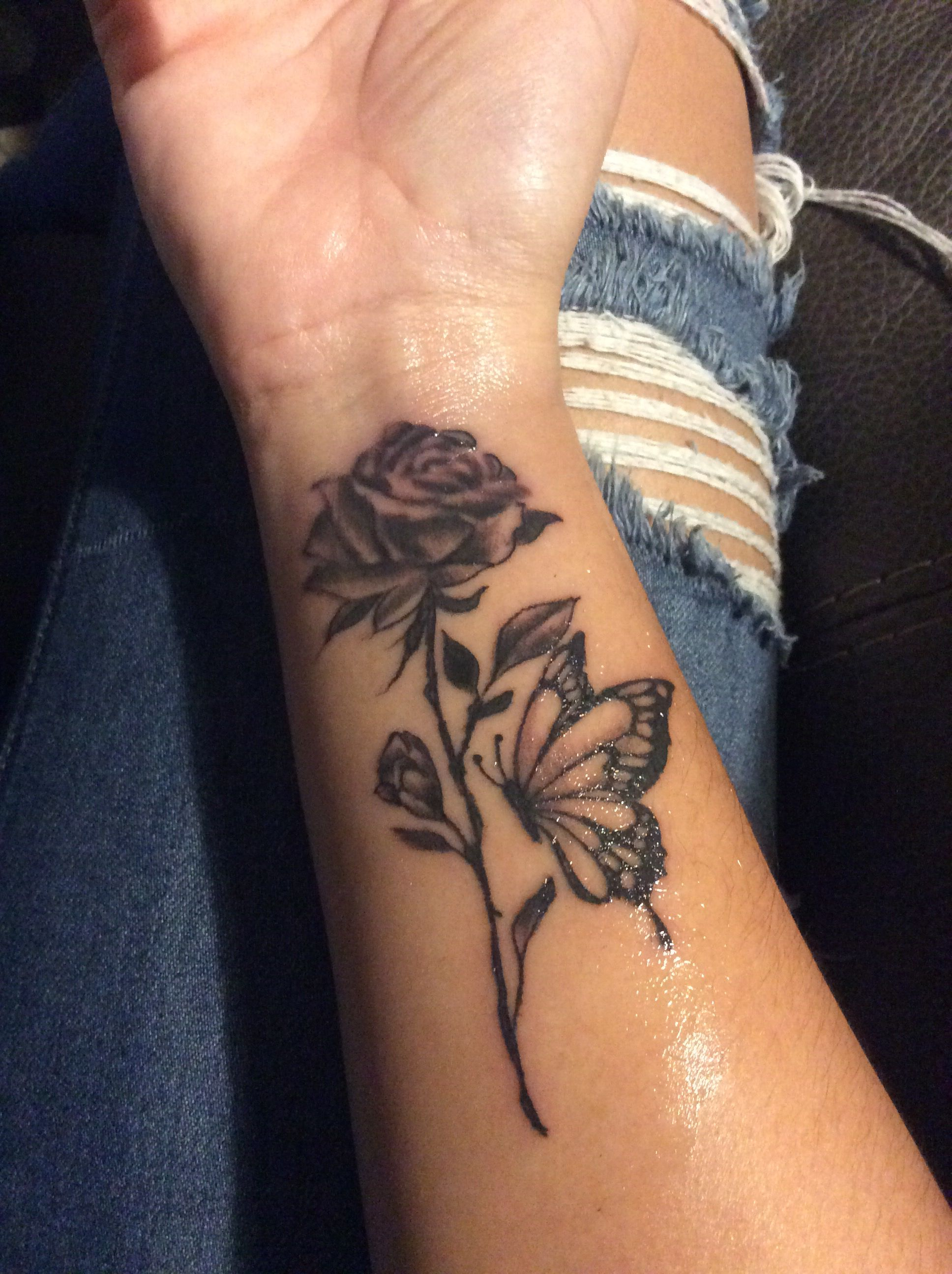 Rose Tattoo On Wrist: Hand Tattoos, Cool Small
