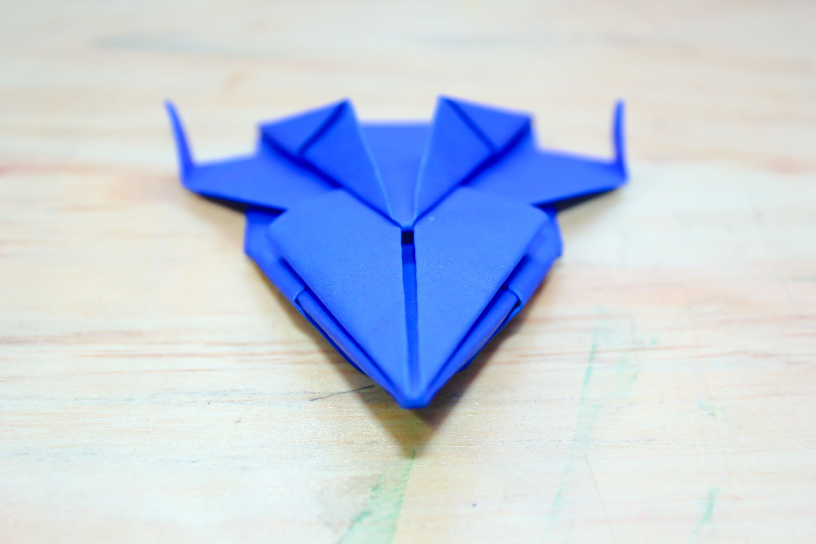 How To Make An Origami Spaceship Via WikiHow