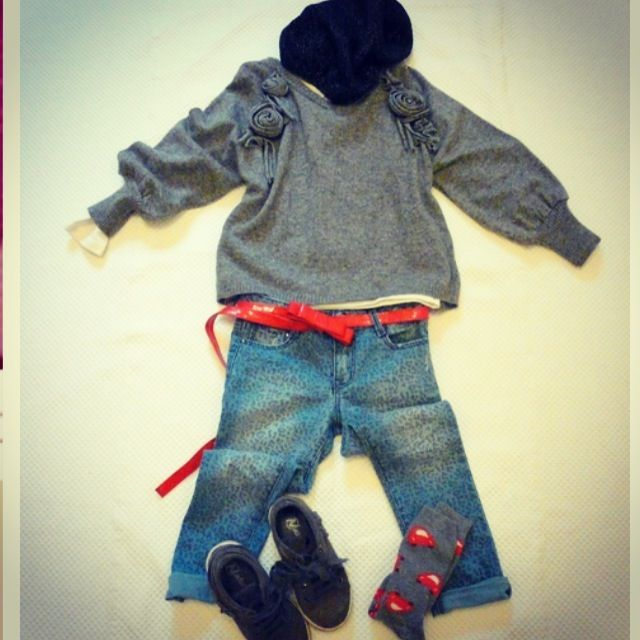 Outfit outfit for kids #scervinojunior on www.fiammisday.com