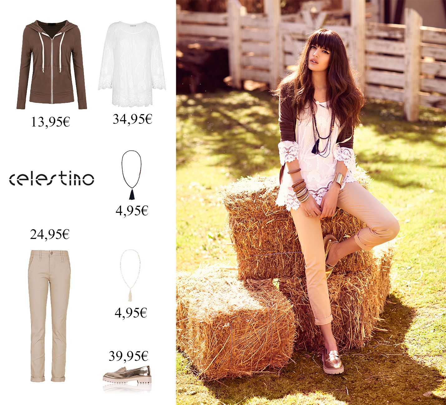A perfect outfit for a perfect morning!!! celestino.gr