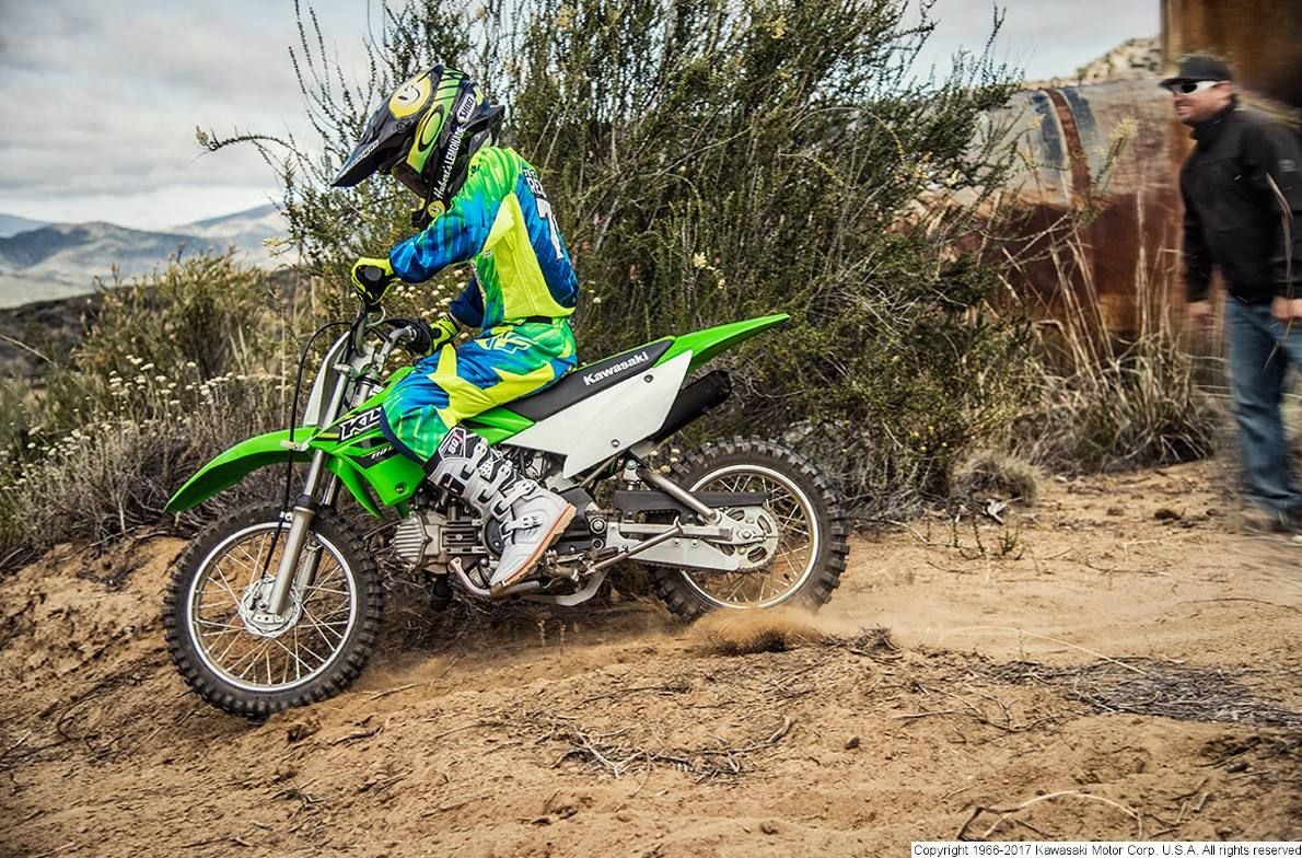 The Klx 110 Motorcycle Is A Versatile Off Road Bike With A Low Seat Height Plush Suspension And An Automatic Clutch F Motorcycle Kawasaki Motorcycles Kawasaki