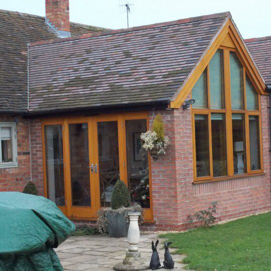 Gable End Like This Gable Window House Extensions Patio Enclosures