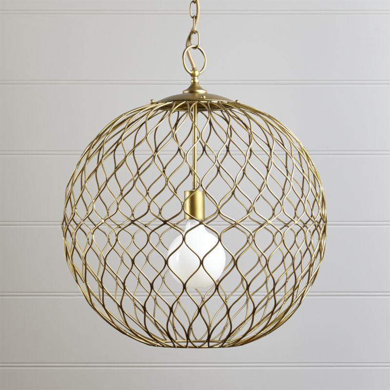 Hoyne Brass Pendant Reviews Crate And Barrel Iron Pendant Sphere Pendant Light Brass Pendant Light