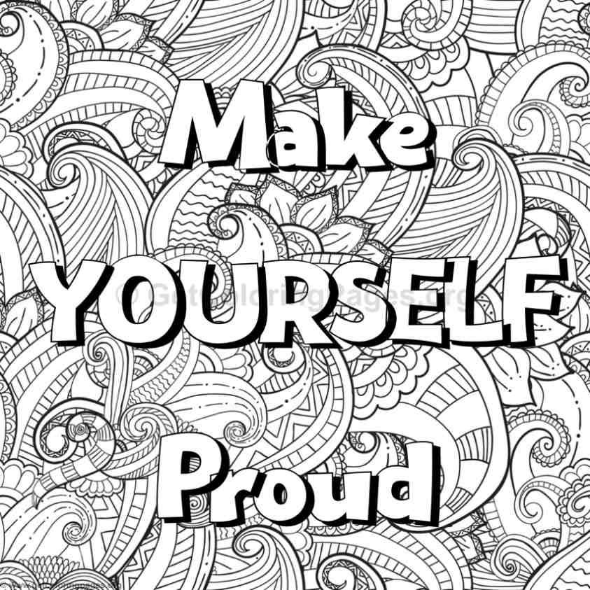 Inspirational Word Coloring Pages 51 Getcoloringpages Org Words Coloring Book Quote Coloring Pages Inspirational Quotes Coloring