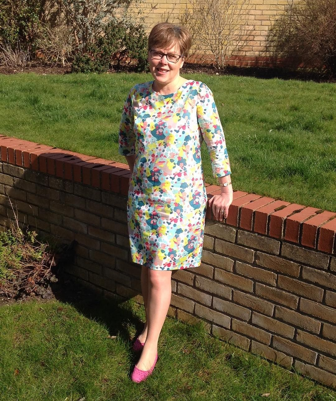 Soishowoff march ultimate shift dress following class at sew over it in islington