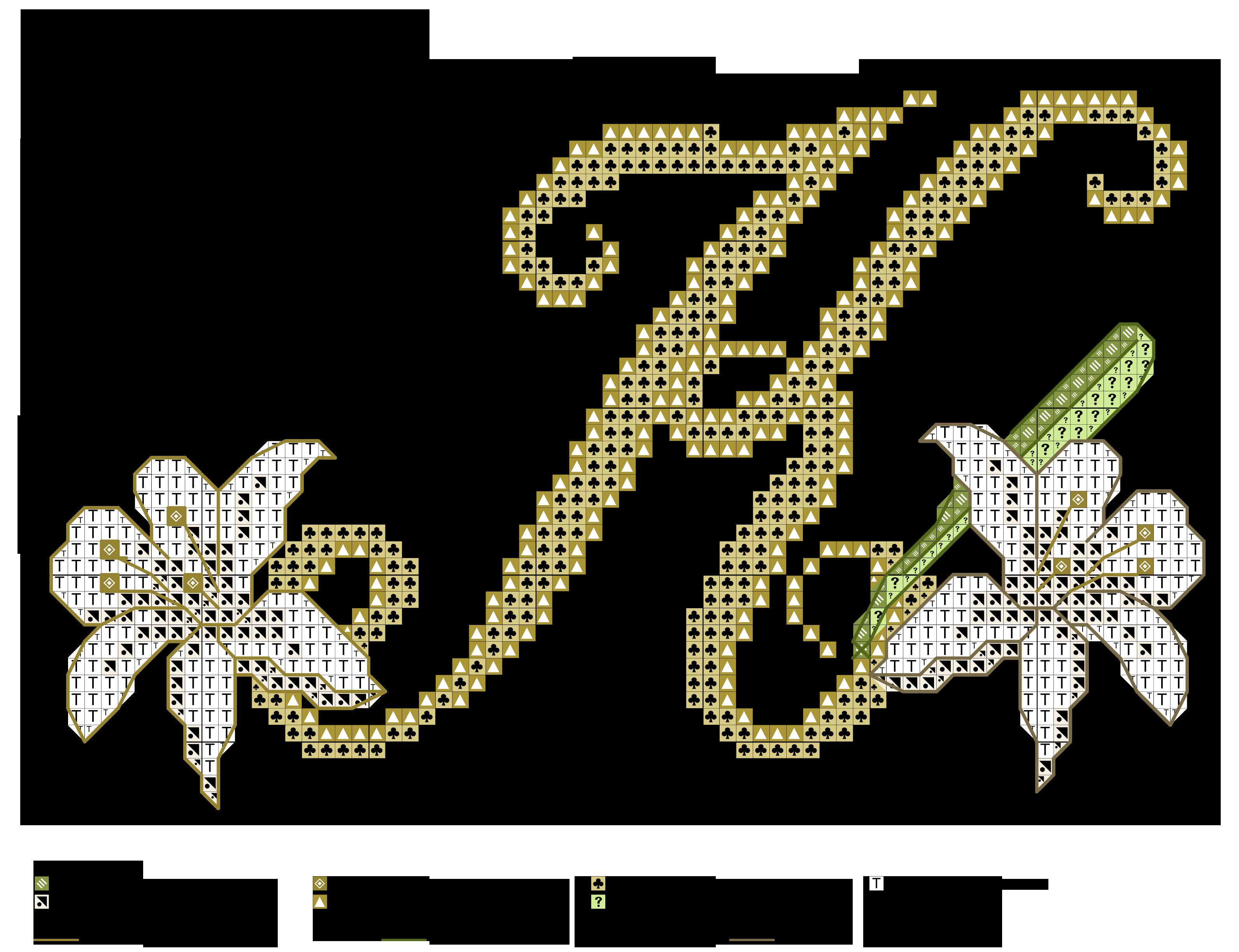 alfabeto dei gigli K | Alfabeti a punto croce | Pinterest | Cross ...