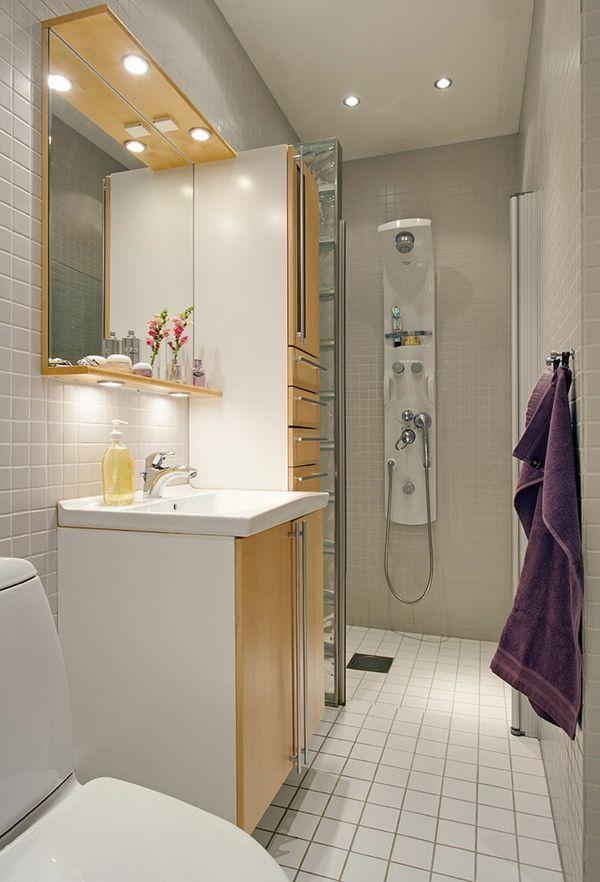 beleuchtung für kleines bad Bad Pinterest kleine Bäder - badezimmer beleuchtung planen
