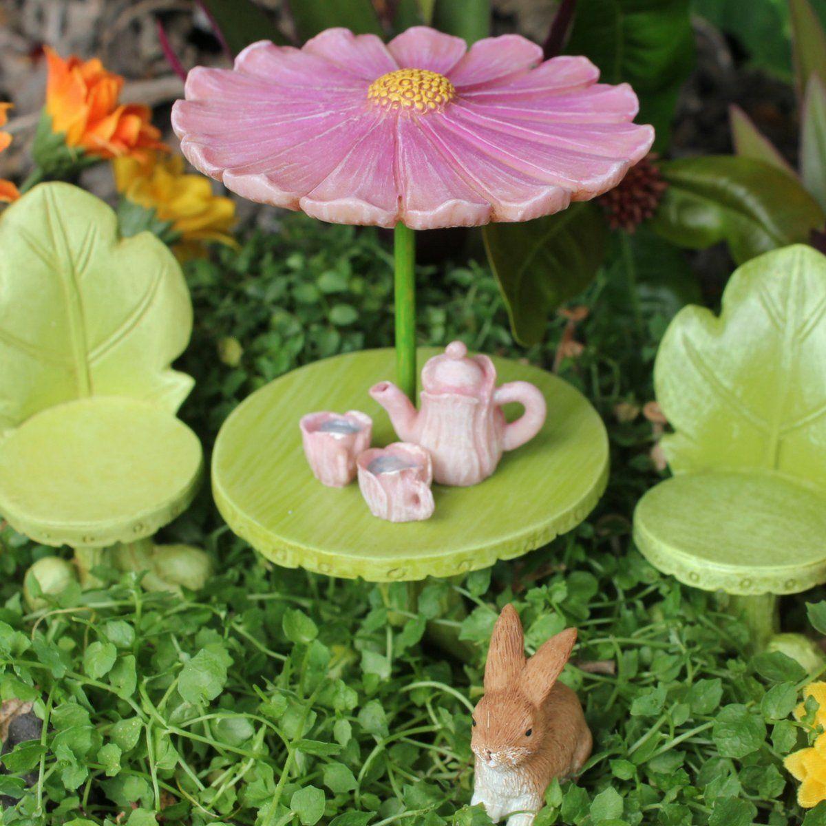 Pretmanns Fairy Garden Accessories âu20acu201c Kit With Miniature Fairy Garden  Fairies âu20acu201c 9 Piece Figurine And Furniture Set âu20acu201c Fairy Garden Supplies *  Find Out ...