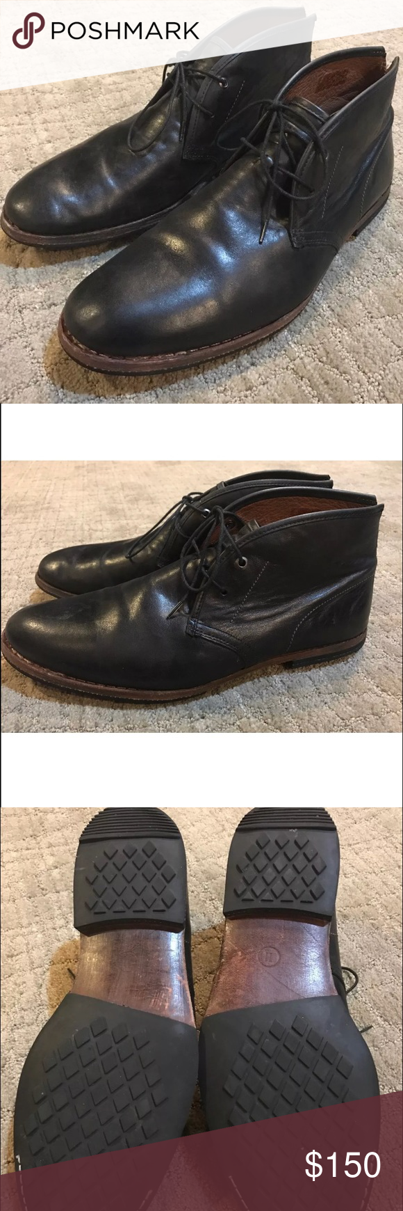 Timberland 'Wodehouse Lost History' Chukka Boot Men's Sz 11.  In EUC with very little signs of wear.  Black. Premium full grain leather. Timberland Shoes Ankle Boots & Booties