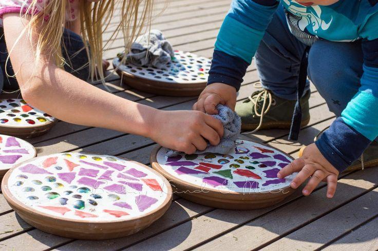 Trittsteine für den Garten Fliesen,Bodenbeläge,Mosaik Pinterest - trittplatten selber machen