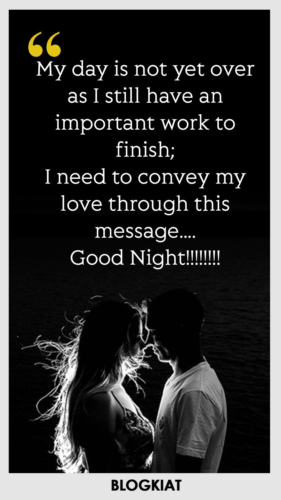 Goodnight My Love Quotes Stunning 50 Good Night Love Quotes Sayings Messages For Himher