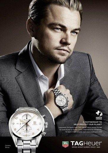 Leo Dicaprio Watches For Men Tag Heuer Classy Watch