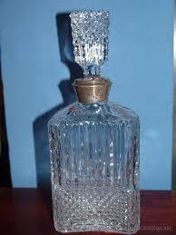 botellas para coñac con plata -