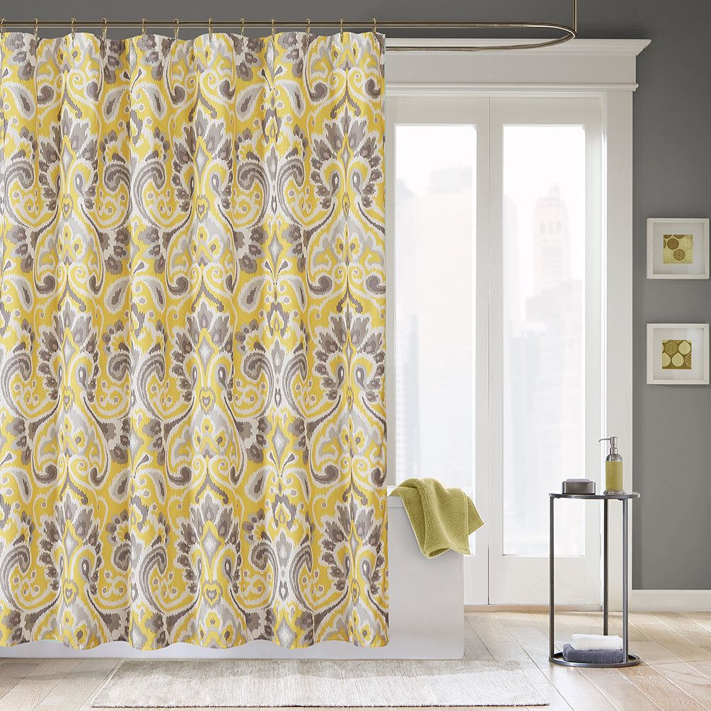 Madison park capris polyester shower curtain u reviews wayfair