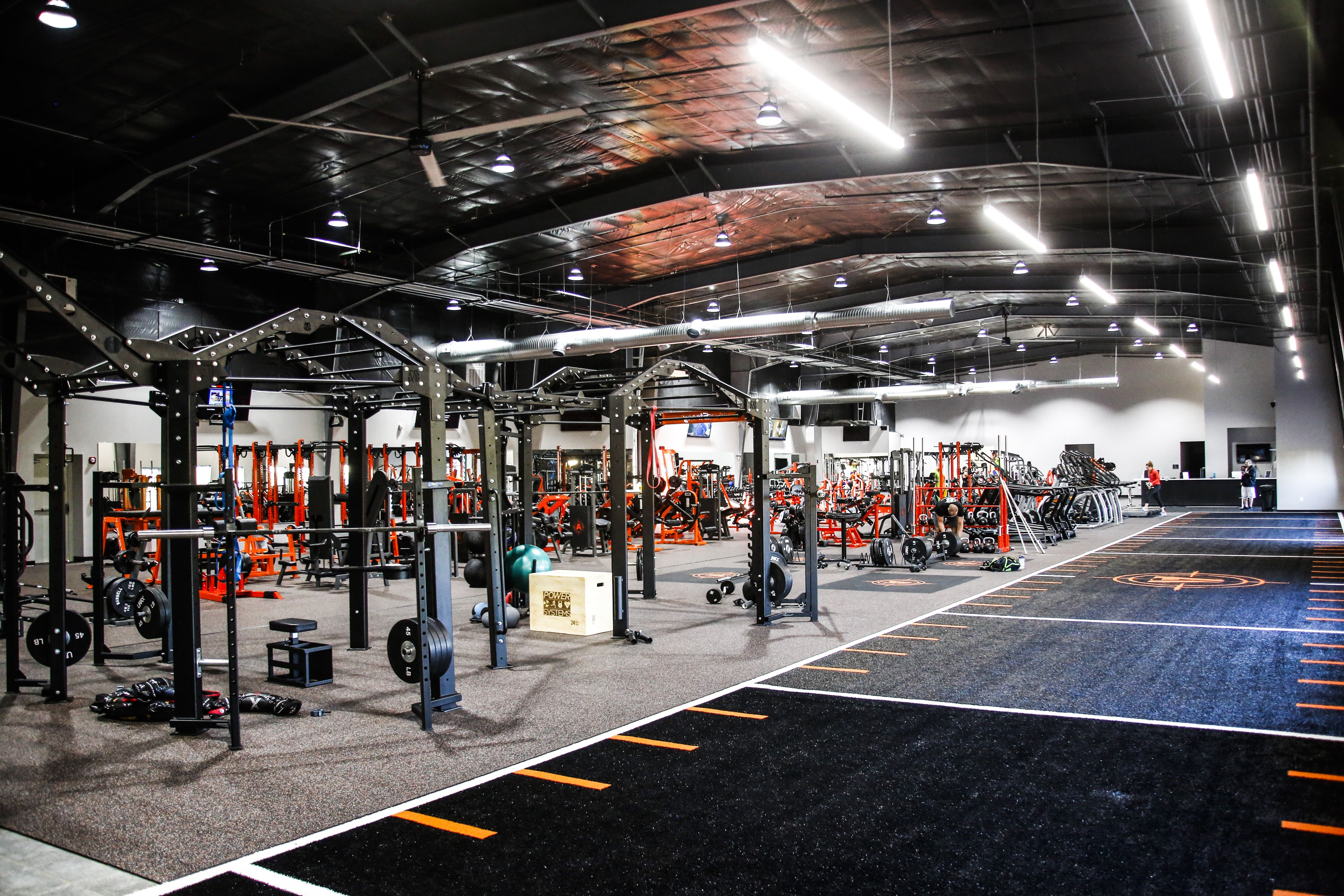 Gym design with the movestrong super nova functional training