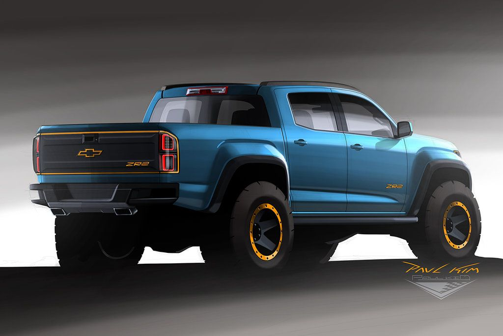 Chevrolet Colorado Zr2 Concept Design 002 By Seawolfpaul Deviantart Com On Deviantart Chevrolet Colorado Trucks Truck Design