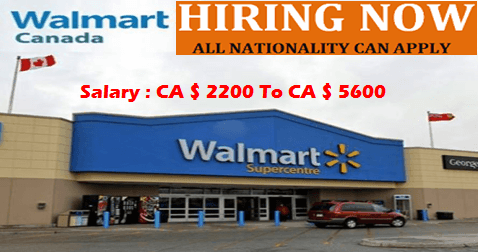 Latest Jobs At Walmart Canada Job Walmart Canada Walmart