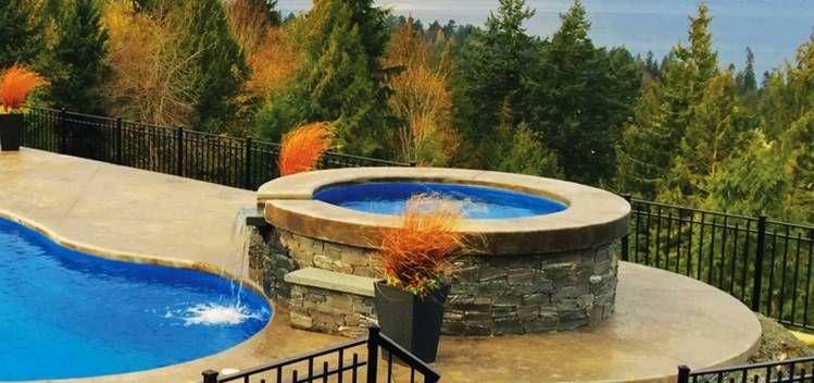 Sorrento Round Leisure fiberglass spa | Fiberglass ...