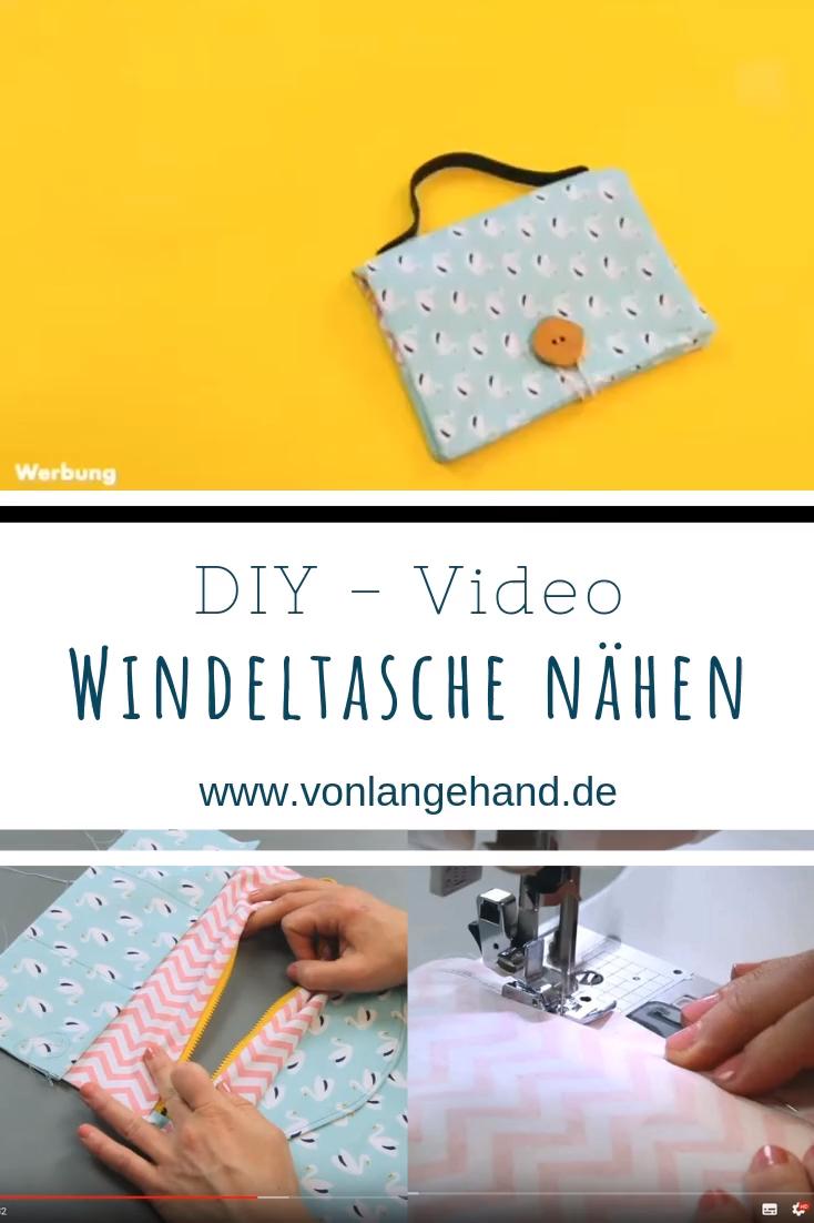 Windeltasche nähen // Video-Tutorial