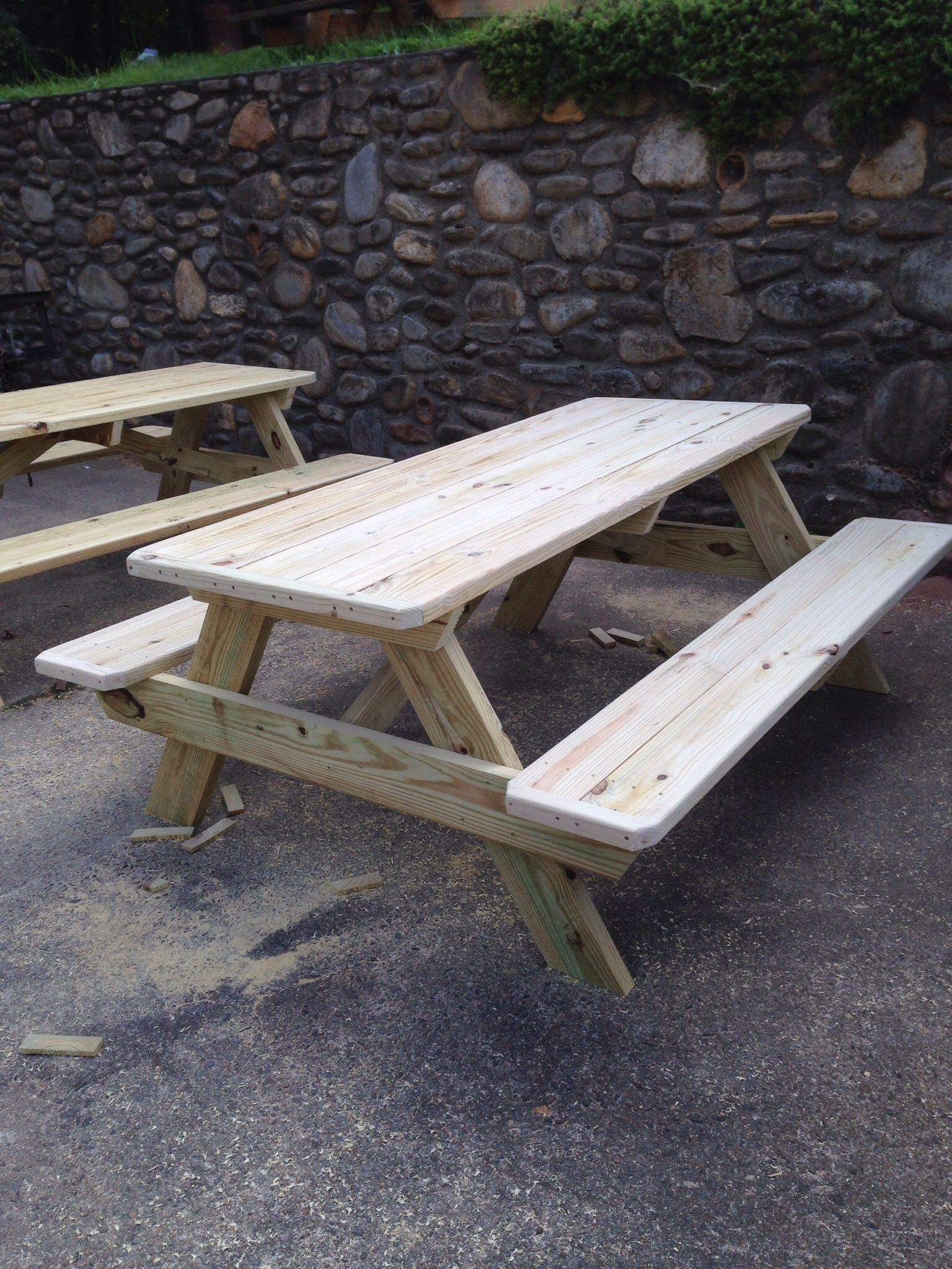 Tables for sale, Asheville NC, pressure treated - Tables For Sale, Asheville NC, Pressure Treated Picnic Tables