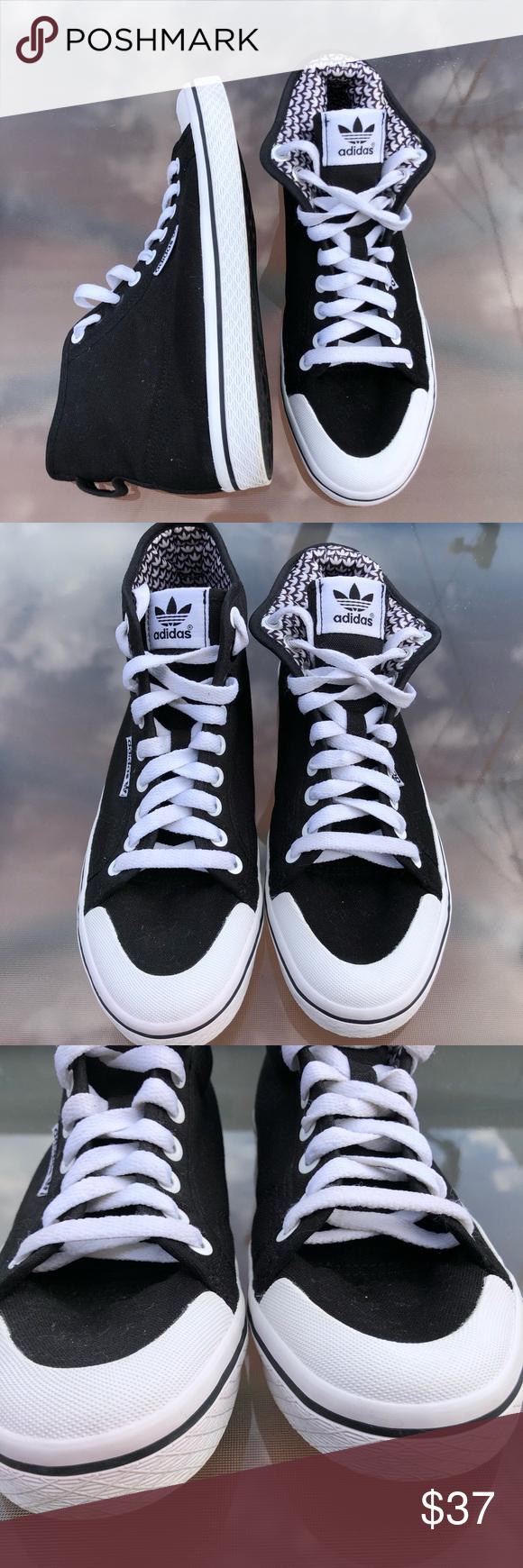 adidas honey mid nere