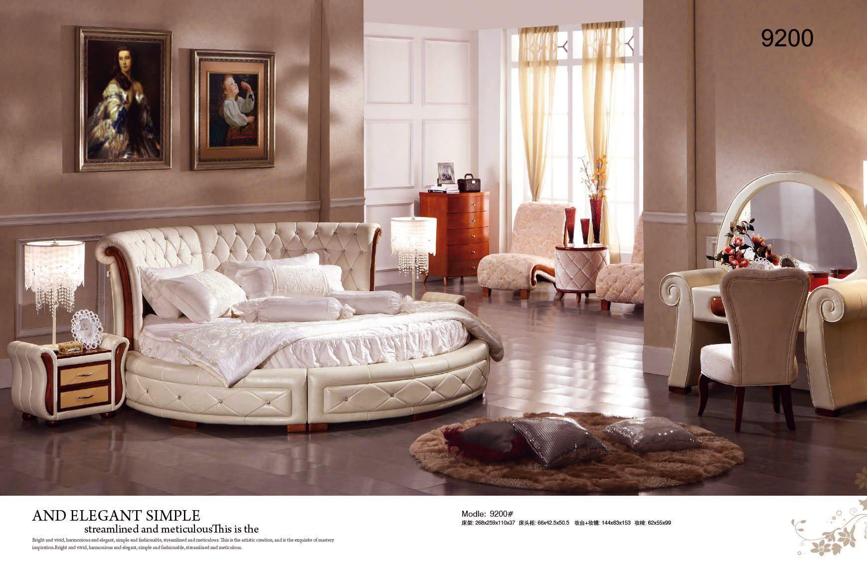 Bedroom Set Round Bed Round Bed Bedroom Furniture En  Bedroom