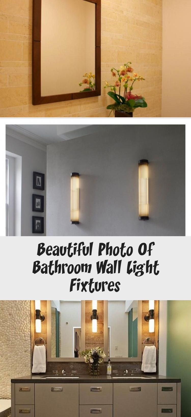 Photo of Beautiful Photo Of Bathroom Wall Light Fixtures – Home Decoration