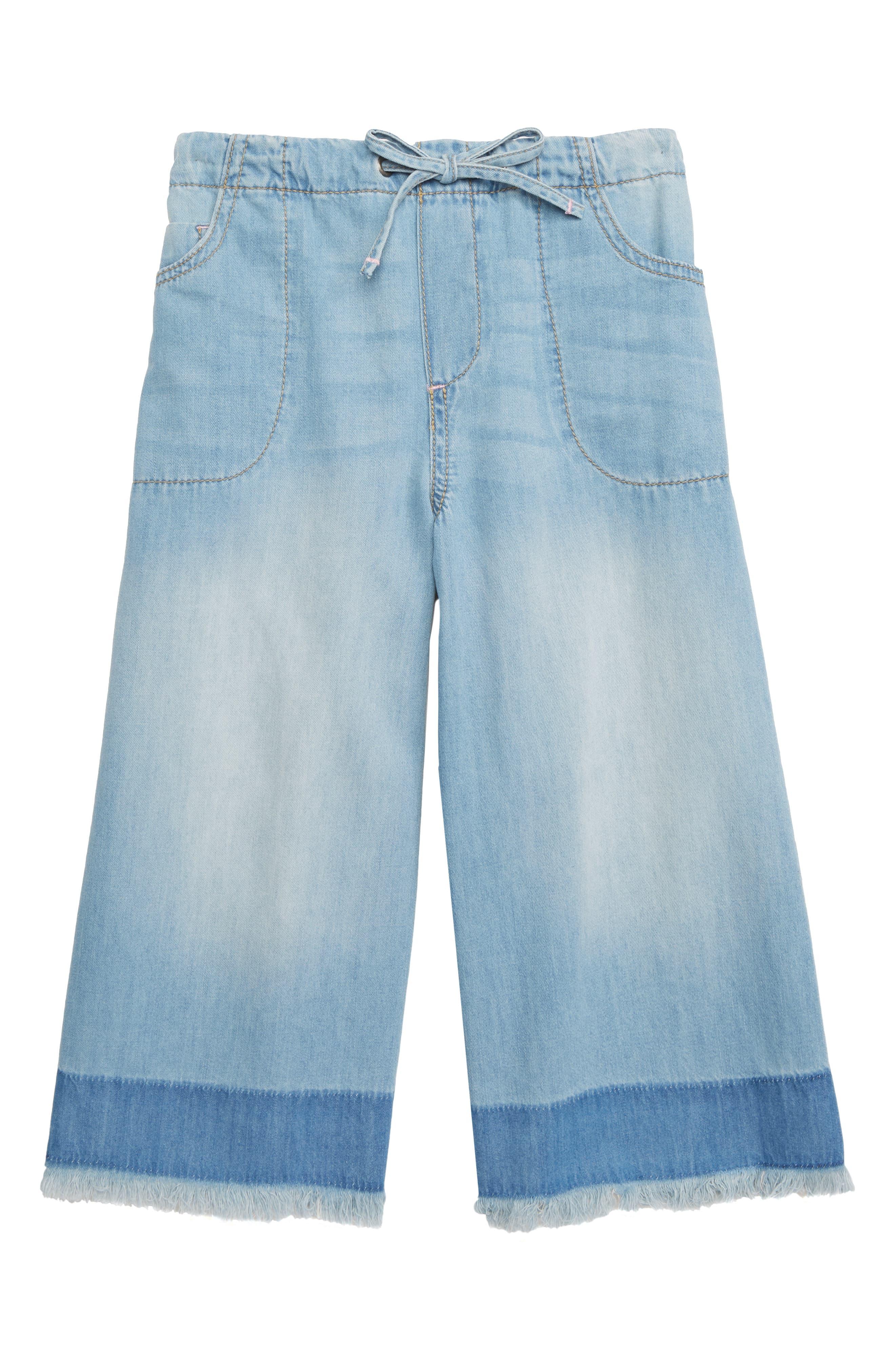e8cb711b19 Stem Breezy Fray Hem Wide Leg Jeans in 2019 | Products | Wide leg ...