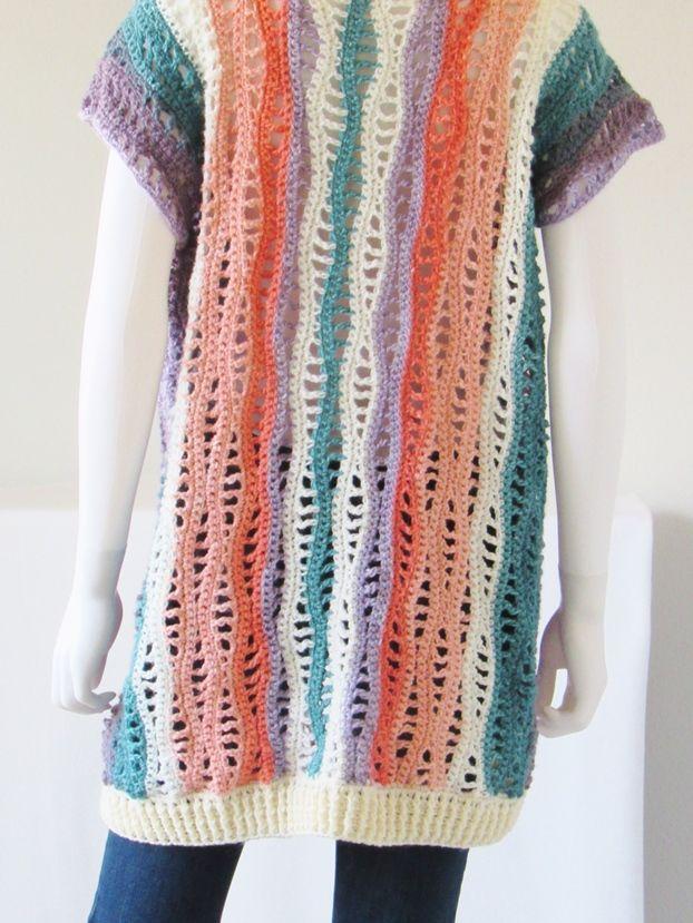 Free Crochet Kimono Pattern, Kylie Kimono | Crochet kimono ...