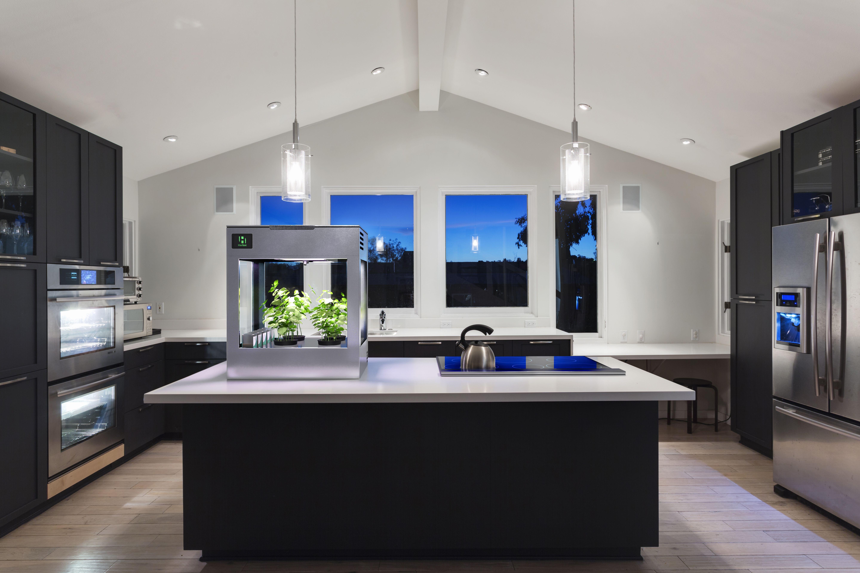Pin By Farm4 0 On Indoor Gardening Growing With Herbot Luxury Kitchen Design Modern Kitchen Design Modern U Shaped Kitchens