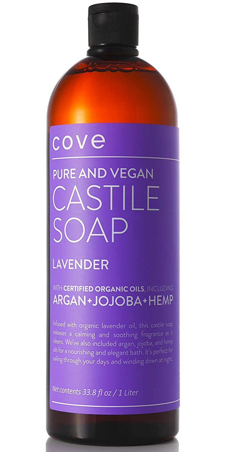 Cove Lavender Castile Soap 33 8 oz - Only Certified Organic