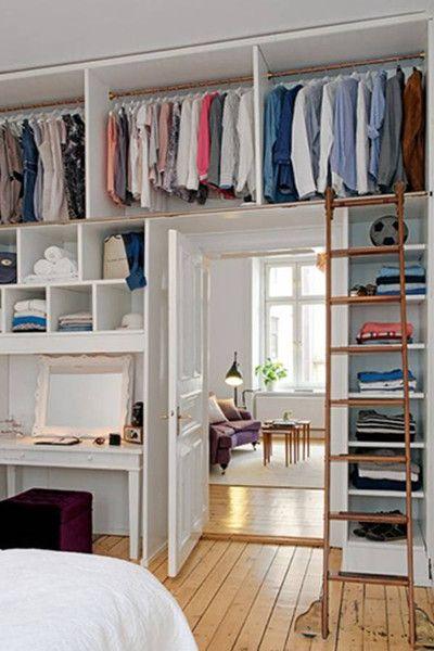 Small Bedroom Closet Design Interesting Closet Solution  Closet Solutions Small Space Design And Small Decorating Design