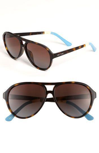 f670c83c25f6 TOMS 'Marco' Aviator Sunglasses | Nordstrom | accessories ...
