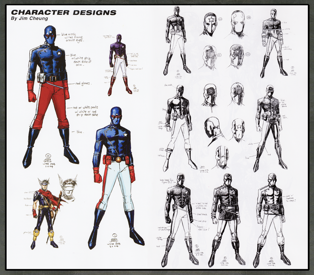 "Character Design Companies : The patriot elijah ""eli bradley character designs by"