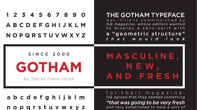 Collection Gotham Font Family Free Download | font | Gotham font