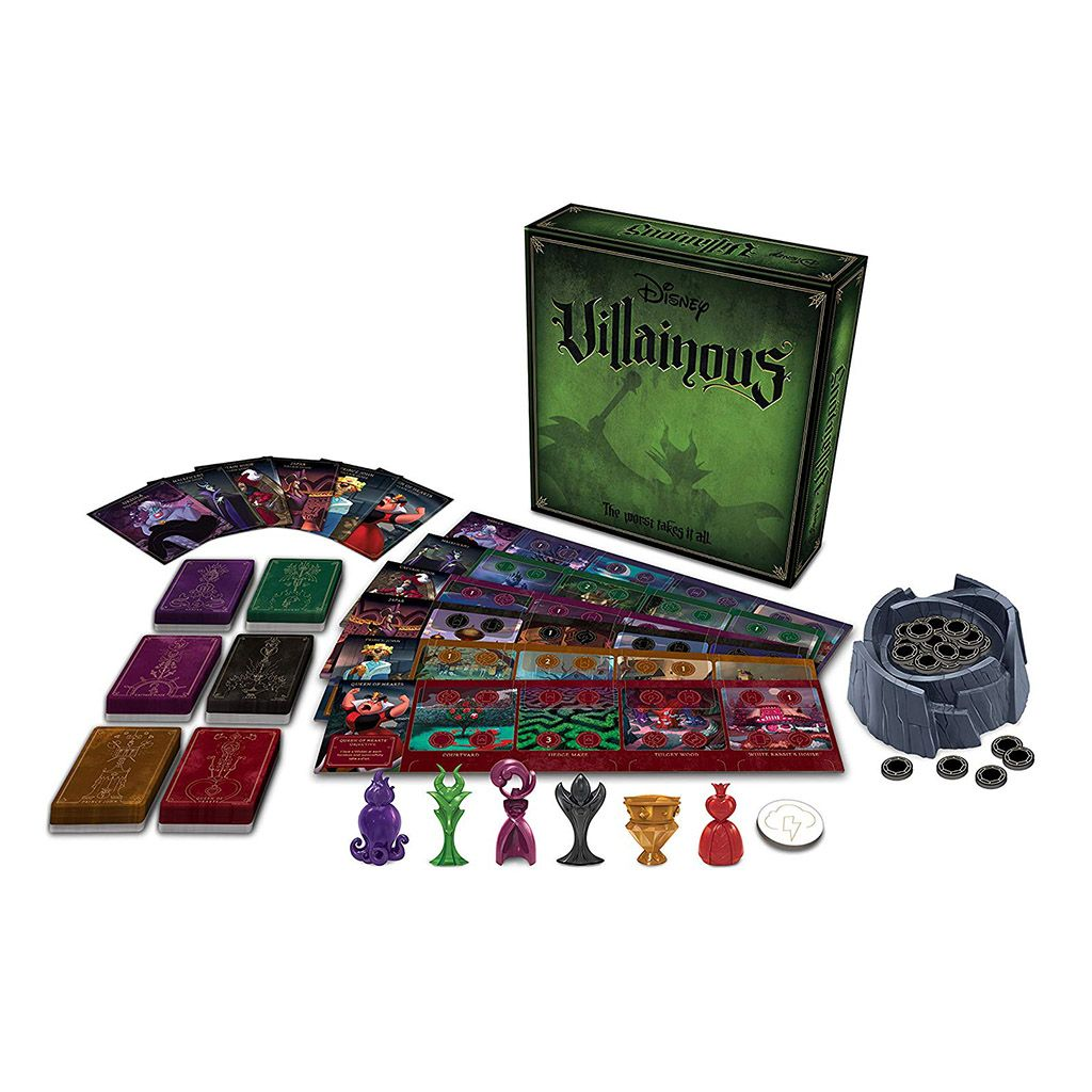 Disney Villainous Strategy Board Game Strategy Board Games