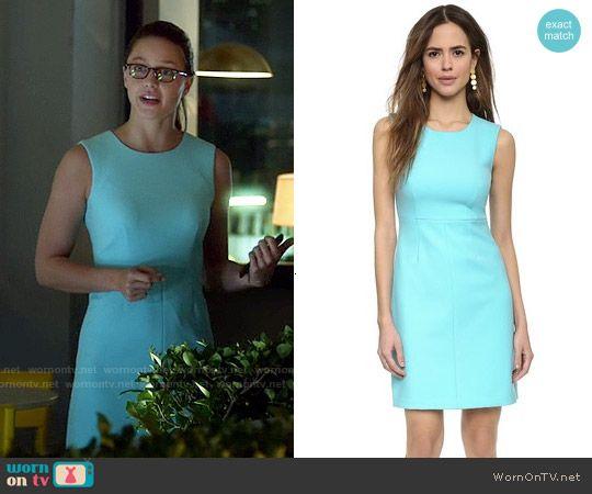 Supergirl Fashion Aqua Blue Sleeveless Dress