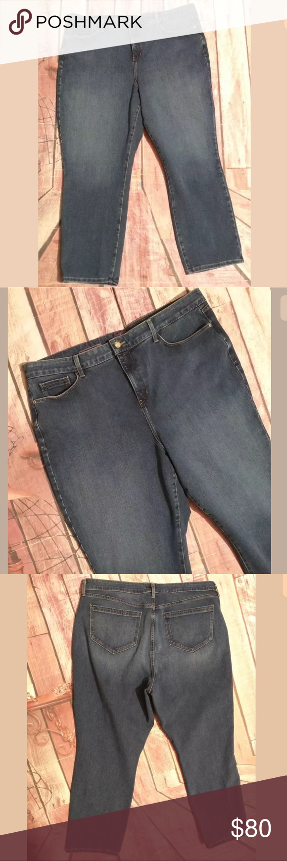 76de8a1462177 NYDJ NOT YOUR DAUGHTERS JEANS Relaxed Ankle👖 NYDJ NOT YOUR DAUGHTERS JEANS  Womens PLUS 20W