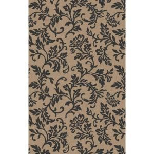 Shaw Living Francesca 8x10 Rectangle Area Rug In Taupe