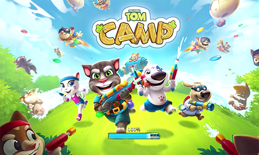 Talking Tom Camp APK Download by Outfit7 Android Role