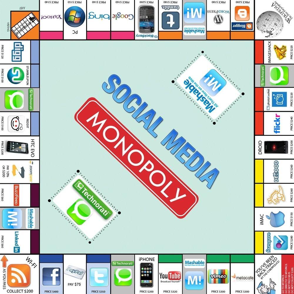 Sosyal Medya Monopoly