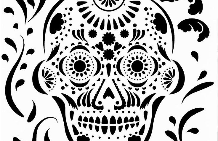Reusable Stencils for Painting in Small /& Large Sizes Aztec Sun Stencil Template for Walls and Crafts