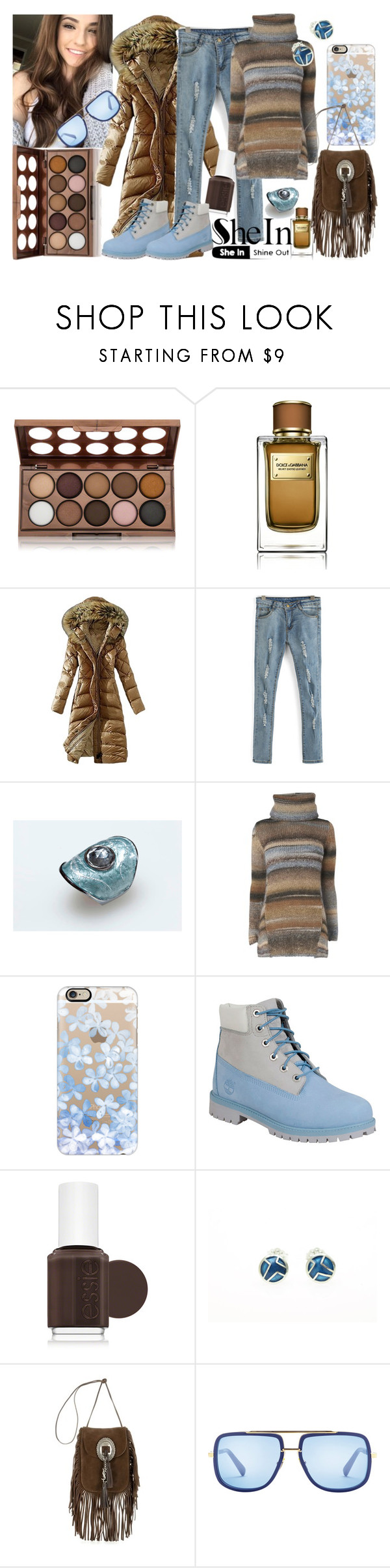 """""""Girls in the snow"""" by giampourasjewel ❤ liked on Polyvore featuring NYX, Dolce&Gabbana, Phase Eight, Casetify, Timberland, Essie, Yves Saint Laurent, women's clothing, women's fashion and women"""