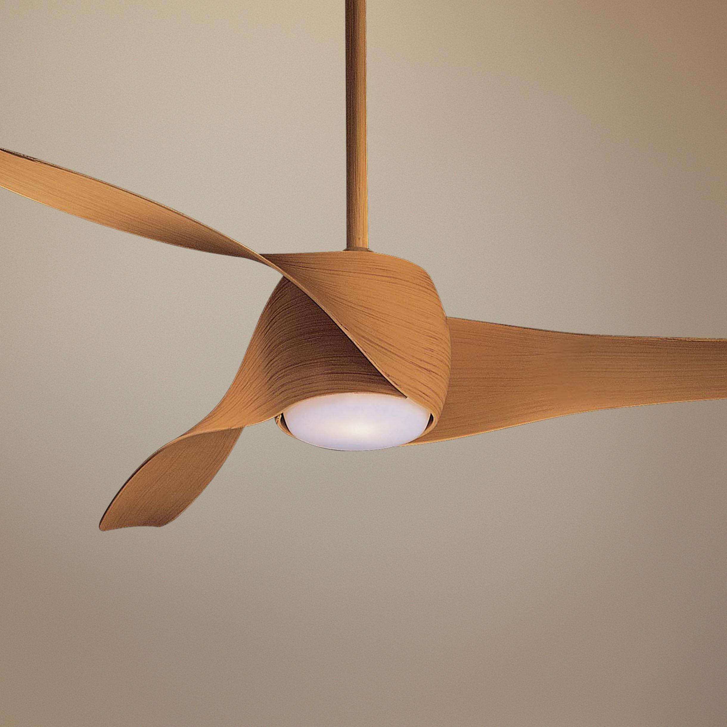 58 Quot Artemis Maple Finish Ceiling Fan Lampsplus Com