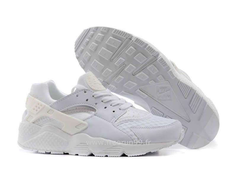 best cheap 3e351 261dc ... Nike Air Huarache Tout blanc - Chaussure Pour Homme Triple Nike  Huarache Homme Blanche ...