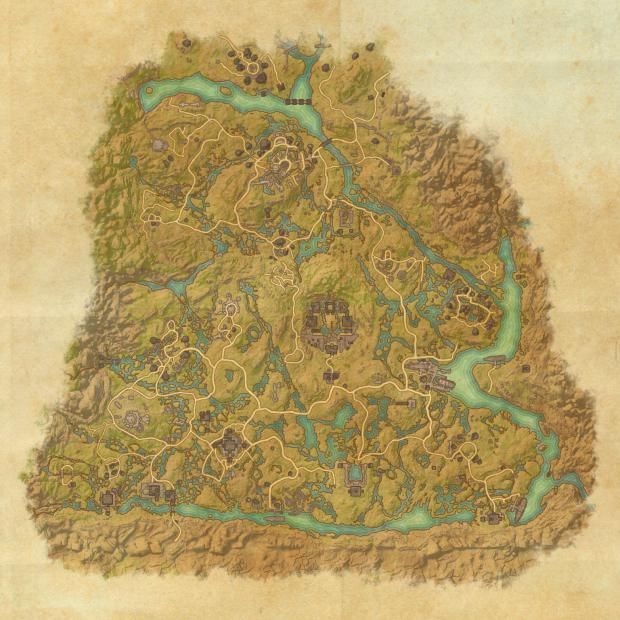 ESO Shadowfen Skyshards Location Map | TESO Life | TESO | Pinterest ...