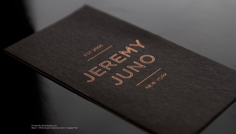 Rockdesign printing | Print Feature Gallery | Foil Stamping ...