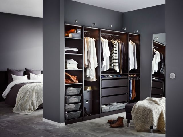 Dressing : quelles configurations possibles ?  Dressing chambre