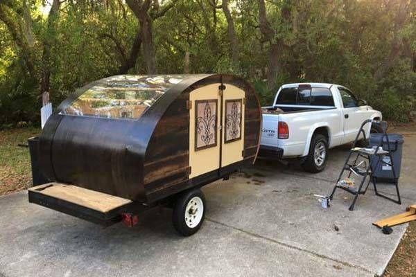 Build Your Own Wood Teardrop Camper Trailer Teardrop Trailers Pinterest Camping Trailers